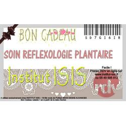 Bon Cadeau Soin Reflexologie Plantaire