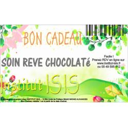Bon Cadeau Soin Rêve Chocolaté