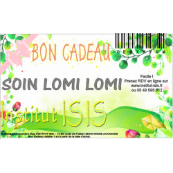 Bon Cadeau Soin Lomi Lomi